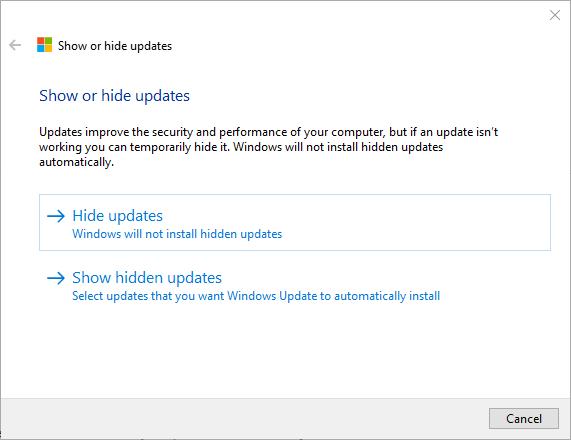 004 - update status driver problem